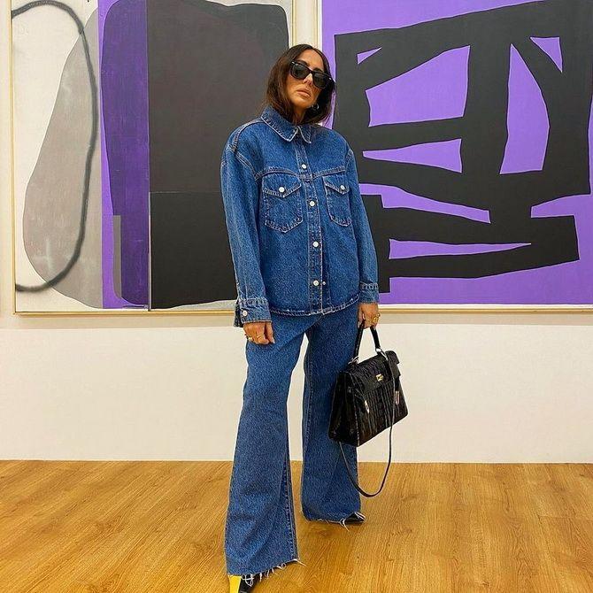 Как выбирать правильные джинсы-клеш: модные советы 31