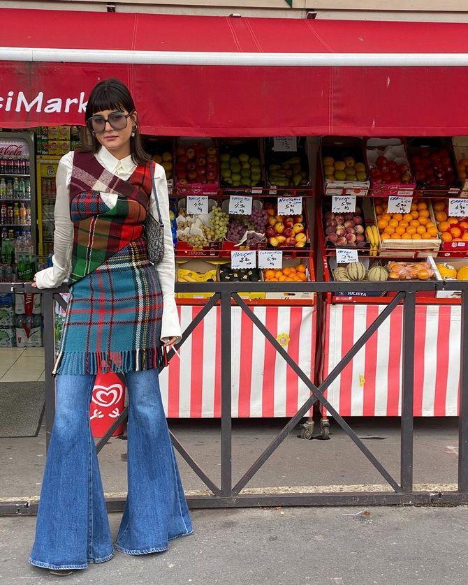 Как выбирать правильные джинсы-клеш: модные советы 32