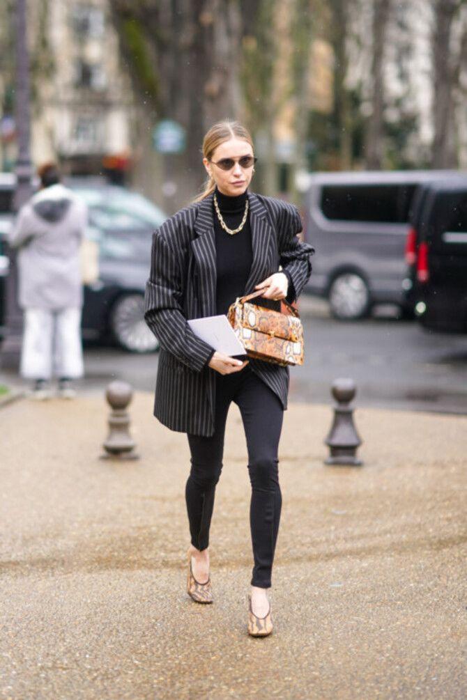 Як носити лосини взимку, щоб не виглядати недолуго? 9