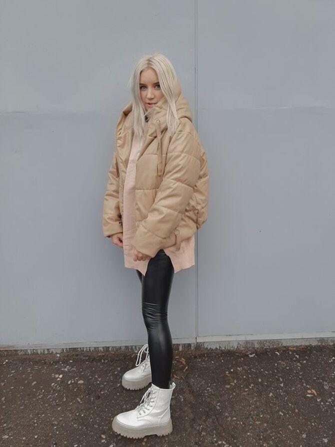 Як носити лосини взимку, щоб не виглядати недолуго? 12