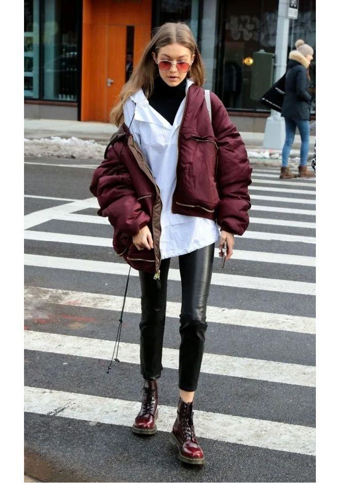 Як носити лосини взимку, щоб не виглядати недолуго? 14