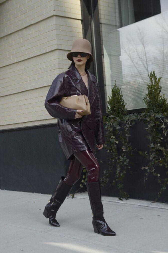 Як носити лосини взимку, щоб не виглядати недолуго? 18