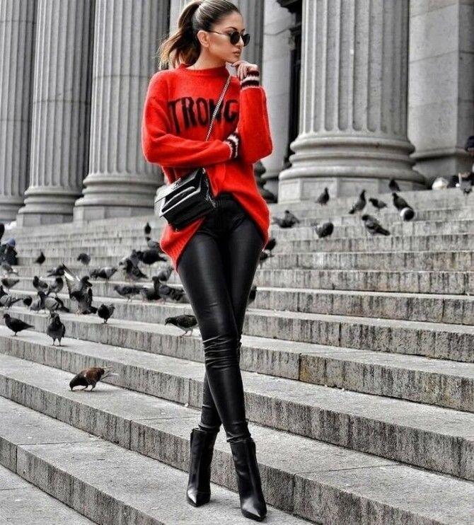 Як носити лосини взимку, щоб не виглядати недолуго? 20