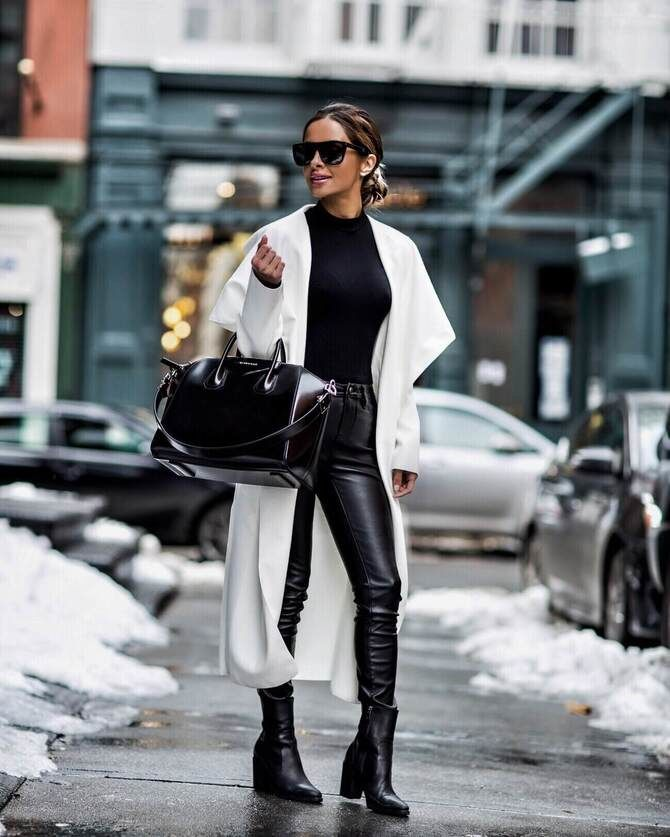 Як носити лосини взимку, щоб не виглядати недолуго? 21