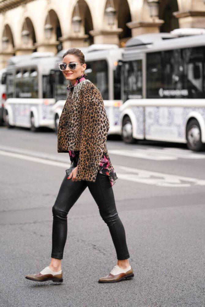 Як носити лосини взимку, щоб не виглядати недолуго? 8