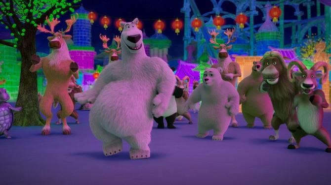 Мультфильм «Норм и несокрушимые: Семейные каникулы»: продолжение приключений белого медведя и его друзей 3