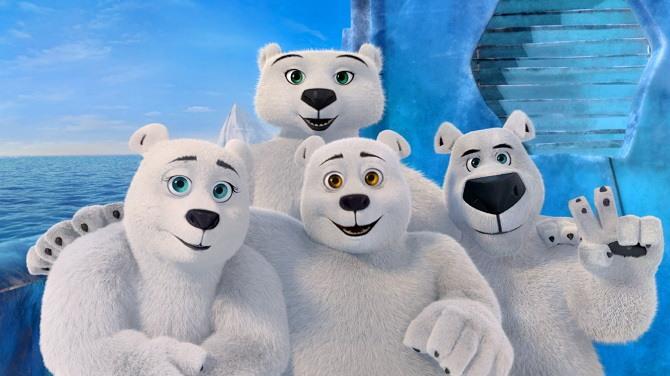 Мультфильм «Норм и несокрушимые: Семейные каникулы»: продолжение приключений белого медведя и его друзей 4