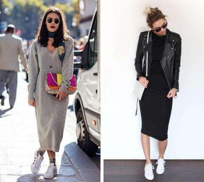 С какой обувью сочетать платья миди? 17
