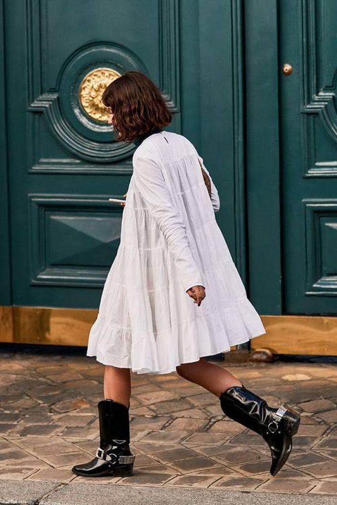 С какой обувью сочетать платья миди? 21
