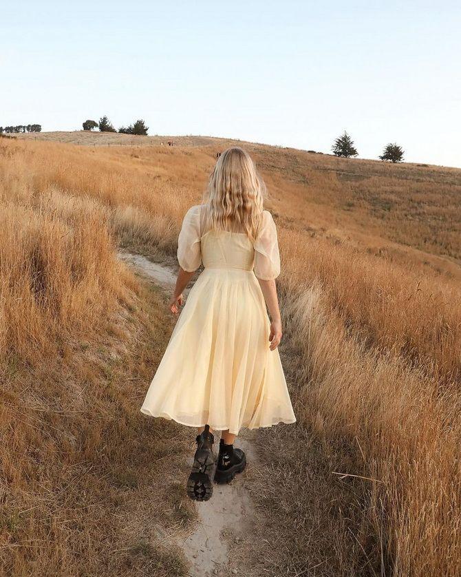 С какой обувью сочетать платья миди? 26