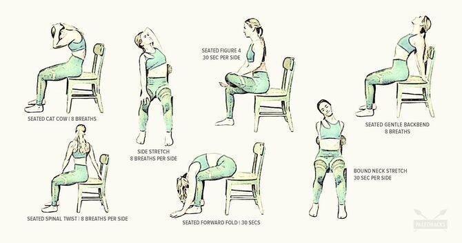 Фітнес-програма в офісі: 8 спортивних вправ для тих, у кого сидяча робота 10