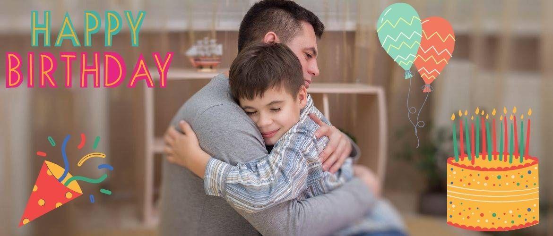 Привітання з Днем народження татові від сина