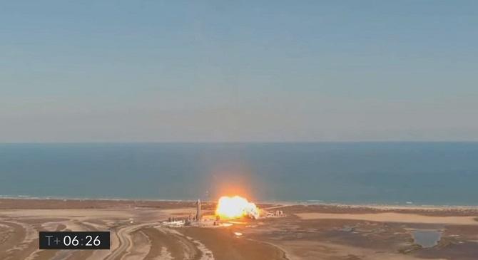 Корабль Starship SN9 компании SpaceX взлетел на высоту 10 км, но разбился при посадке (видео) 6