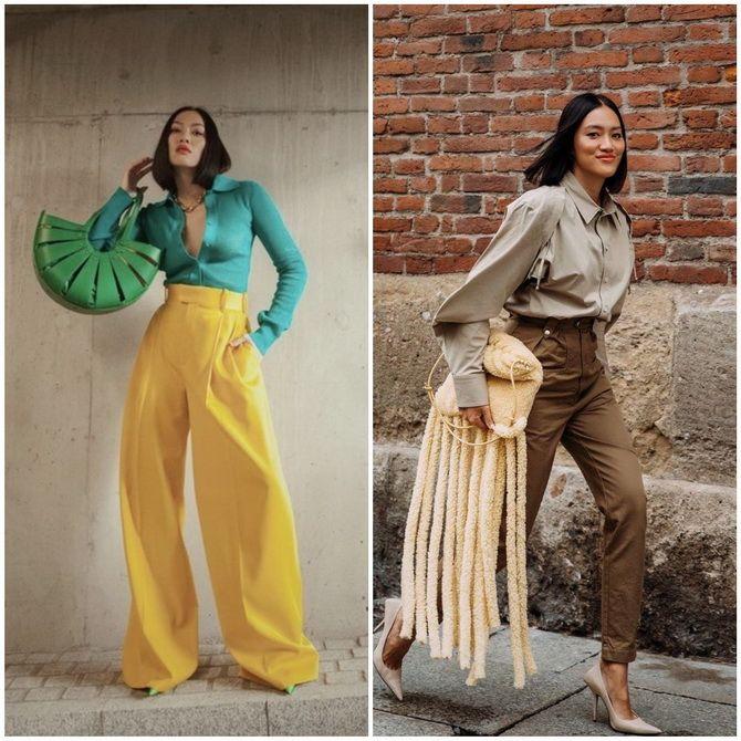 Одеваемся, как звезда стритстайла: 11 вещей, которые помогут создать модный гардероб 2021 5