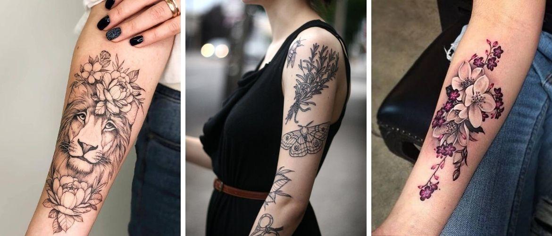 Женские татуировки на руке: как выбрать хороший рисунок