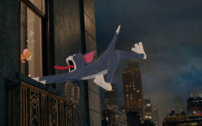 Приключенческая комедия «Том и Джерри»: любимые герои в кино 2