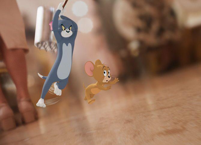 Приключенческая комедия «Том и Джерри»: любимые герои в кино 4