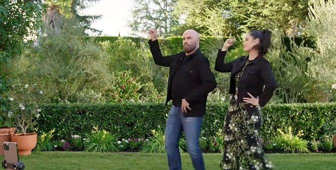 Джон Траволта з донькою повторили танець з фільму «Бріолін» і підірвали інтернет 1