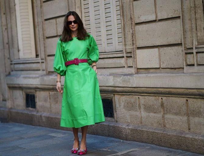 С какой обувью сочетать платья миди? 4