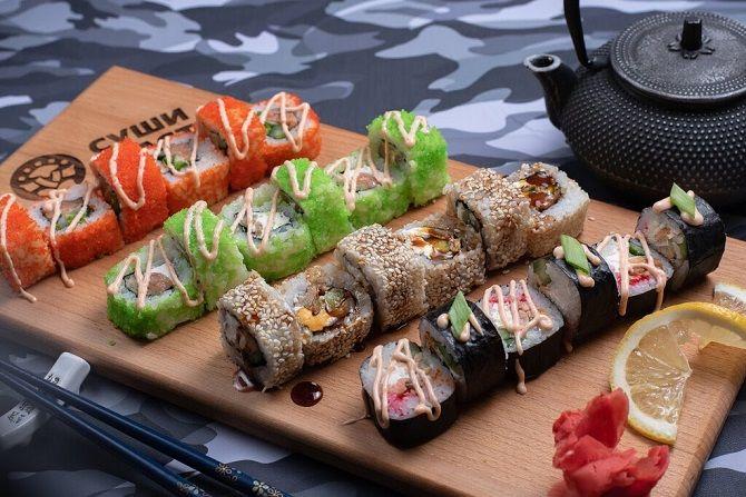 Обзор популярных сетей суши ресторанов Екатеринбурга 1