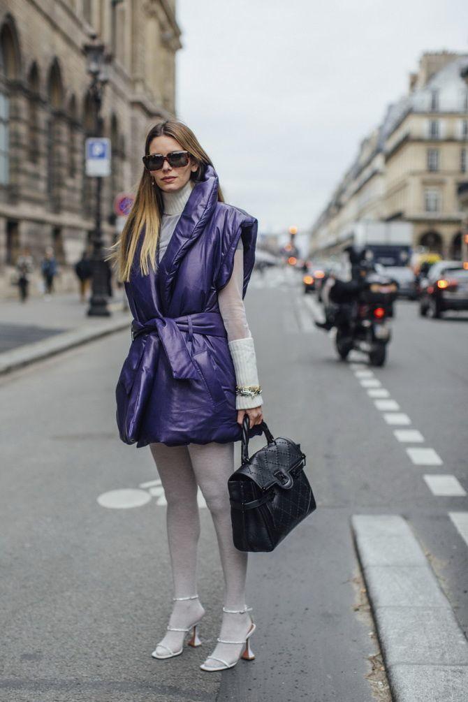 Дутый жилет – модная вещь в гардеробе каждой девушки 19