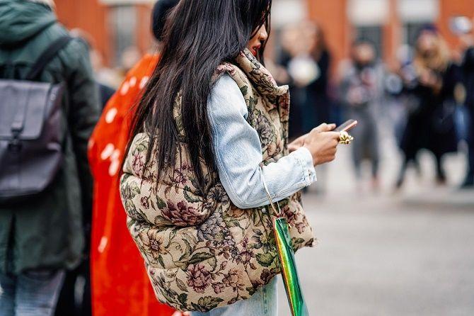 Дутый жилет – модная вещь в гардеробе каждой девушки 7
