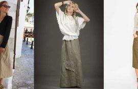 З чим носити лляну спідницю – незвичайний образ
