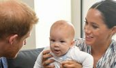 Беременная Меган Маркл и принц Гарри  появились на новом семейном фото с сыном Арчи