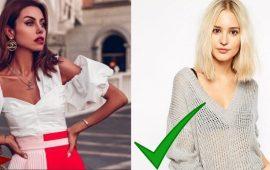 Як приховати широкі плечі за допомогою одягу – поради стилістів