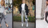 С чем носить серые джинсы – популярные модели этого года?
