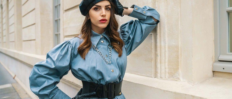 Як носити широкий пояс в цьому сезоні – модні прийоми