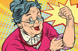 День бабусь: барвисті привітання для бабусь