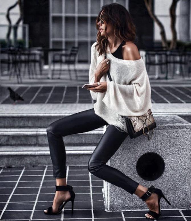 Самые модные способы использовать в гардеробе кожаные вещи – с чем их сочетать? 14