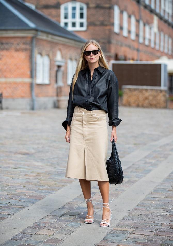 Самые модные способы использовать в гардеробе кожаные вещи – с чем их сочетать? 8