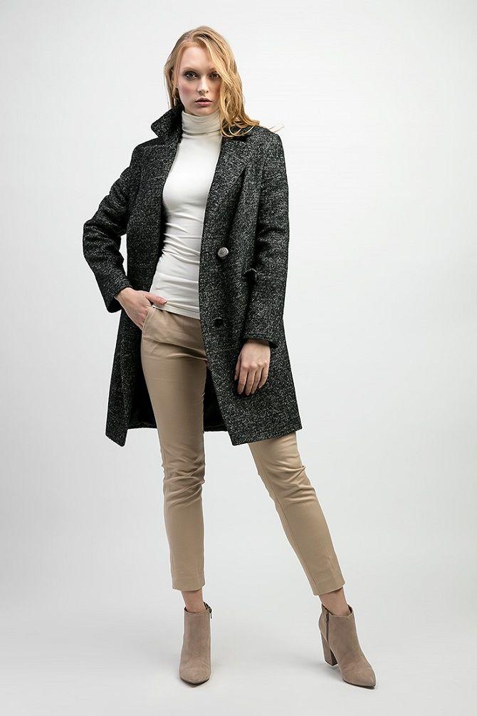 Как носить шерстяное пальто – модные идеи для весны 12