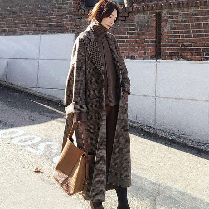 Как носить шерстяное пальто – модные идеи для весны 16