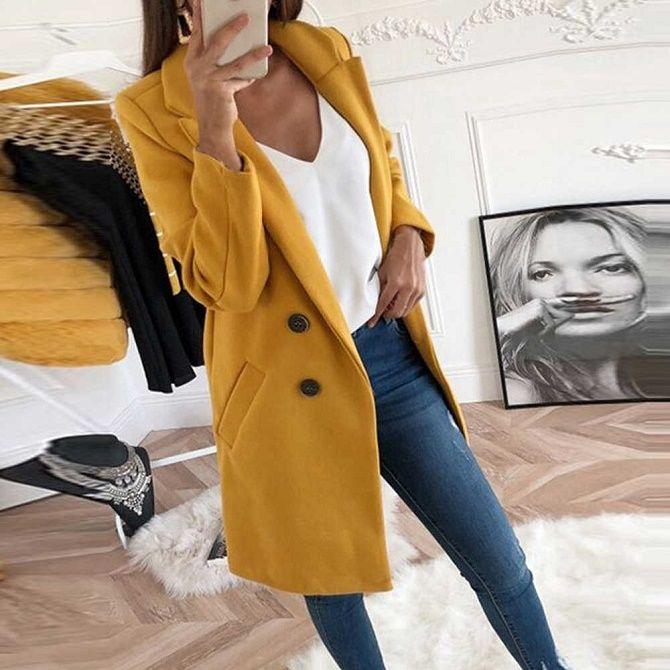 Как носить шерстяное пальто – модные идеи для весны 18