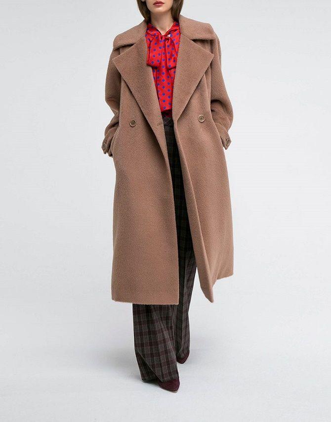 Как носить шерстяное пальто – модные идеи для весны 8