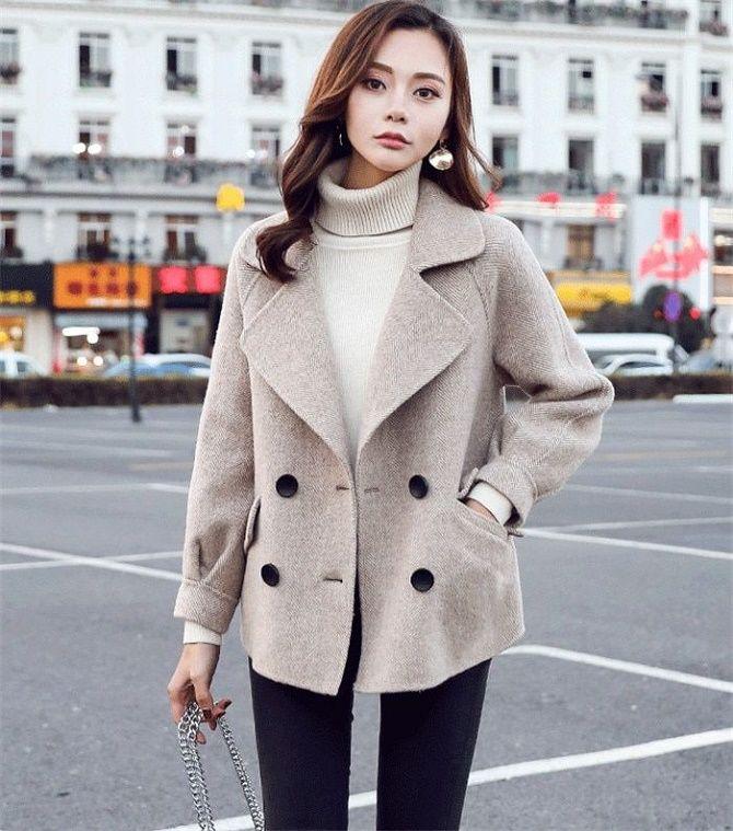 Как носить шерстяное пальто – модные идеи для весны 9