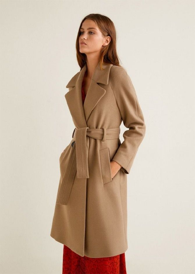 Как носить шерстяное пальто – модные идеи для весны 10
