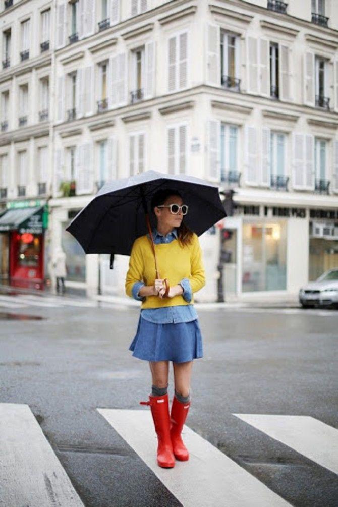 Як добре виглядати в дощову погоду навесні: 5 кращих образів 11