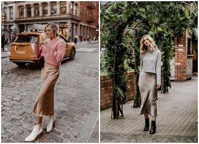 Шелковое платье – как носить самый модный тренд будущего сезона? 15