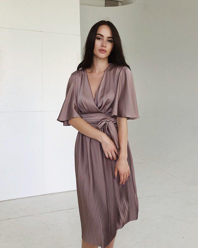 Шелковое платье – как носить самый модный тренд будущего сезона? 22