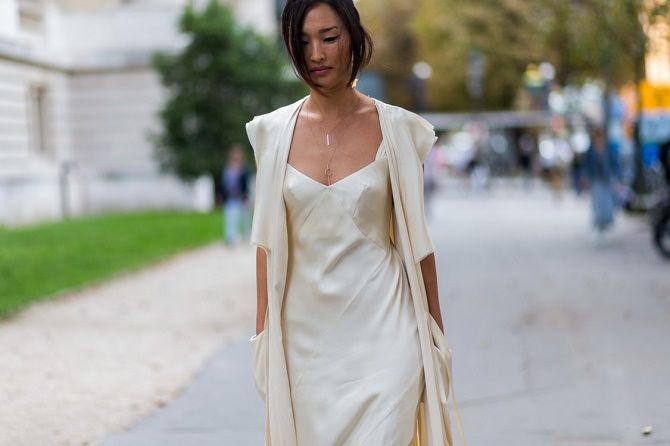 Шелковое платье – как носить самый модный тренд будущего сезона? 25