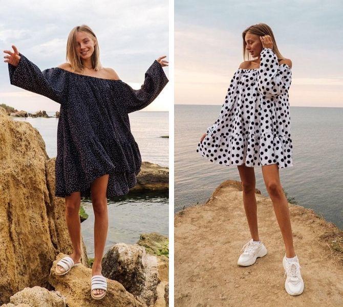 Платье-балахон: как носить и кому подойдет 1