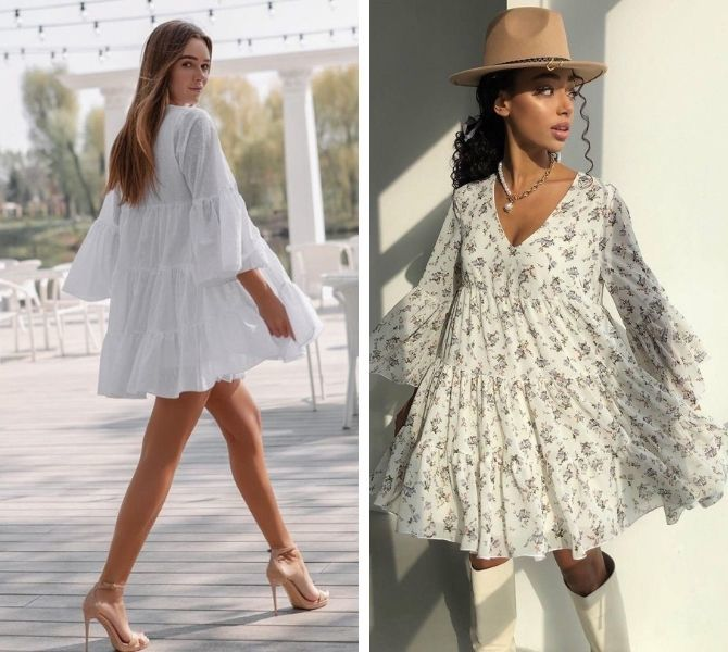 Платье-балахон: как носить и кому подойдет 2