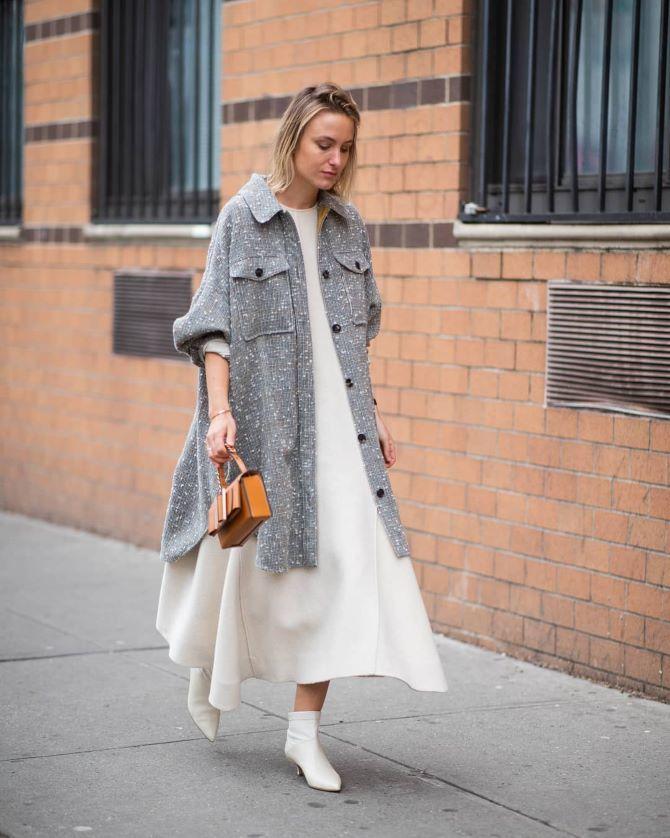 Платье-балахон: как носить и кому подойдет 16