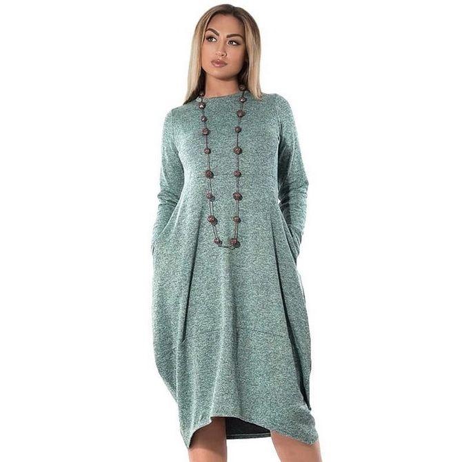 Платье-балахон: как носить и кому подойдет 4