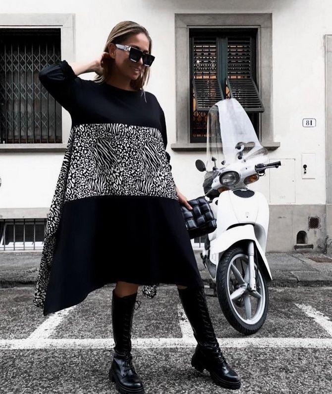 Платье-балахон: как носить и кому подойдет 6