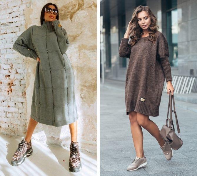 Платье-балахон: как носить и кому подойдет 7